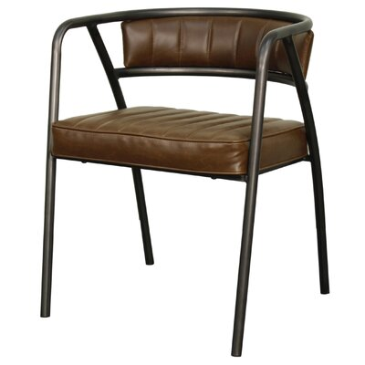 Frisco Arm Chair Upholstery: Vintage Brown