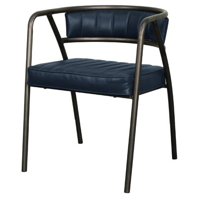 Frisco Arm Chair Upholstery: Vintage Blue