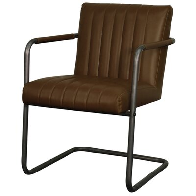 Lexie Arm Chair Upholstery: Vintage Brown