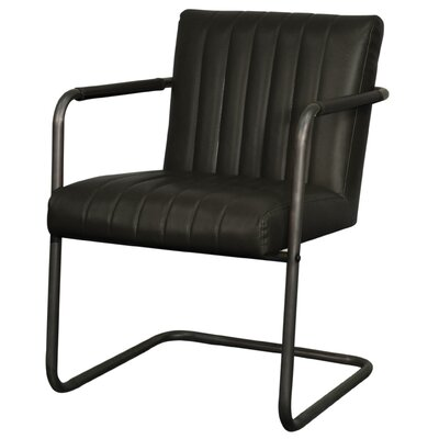 Lexie Arm Chair Upholstery: Vintage Black