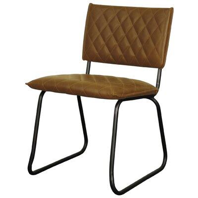 Patrick Side Chair Upholstery: Vintage Cognac