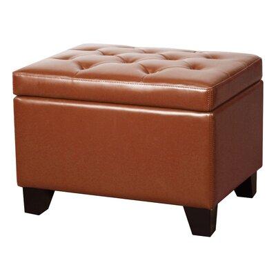 Julian Ottoman Upholstery: Pumpkin