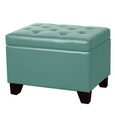 Kimbler Storage Ottoman Upholstery: Turquoise