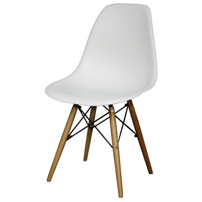 Essence Side Chair Finish: White
