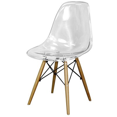 Essence Side Chair Finish: Transparent