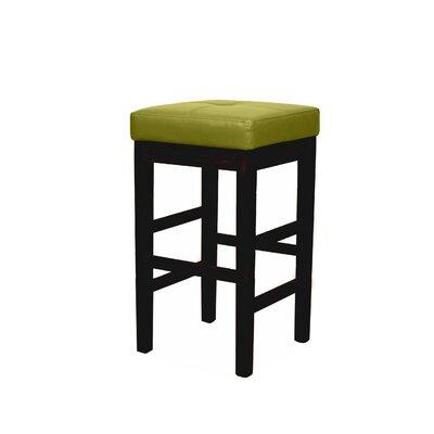 Valencia 31 Bar Stool Upholstery: Wasabi