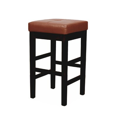 Valencia 31 inch Bar Stool Upholstery: Cognac