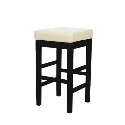 Valencia 31 inch Bar Stool Upholstery: Beige