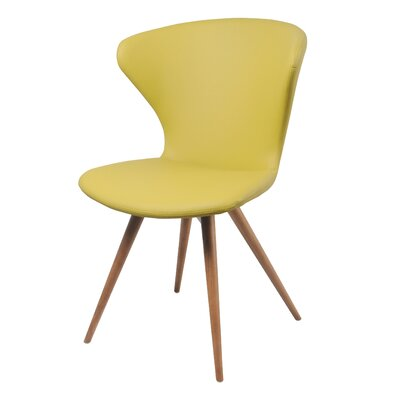 Brianda Upholstered Dining Chair Upholstery Color: Citronella