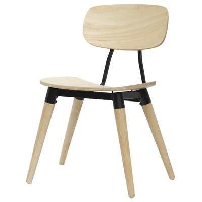 Arlo Side Chair Finish: Natural / Black