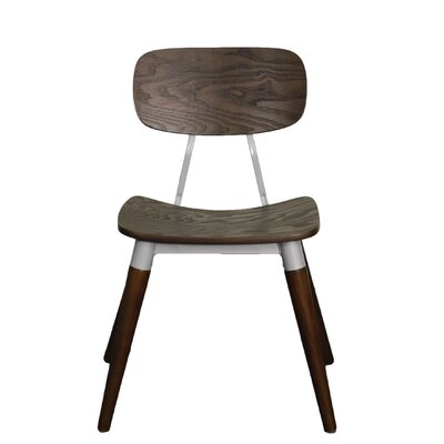Arlo Side Chair Finish: Espresso / Silver