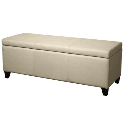Sofia Storage Ottoman Upholstery: Sand