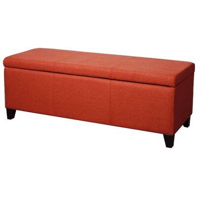 Sofia Storage Ottoman Upholstery: Persimmon