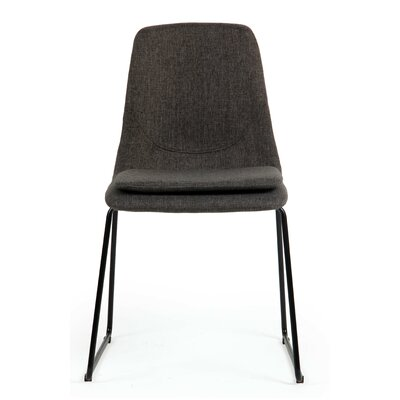 Marcell Side Chair Upholstery: Web Gray