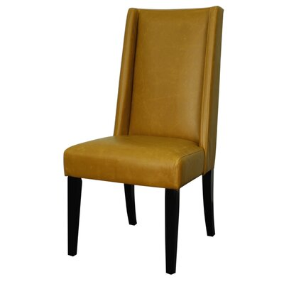 Blain Side Chair Upholstery: Vintage Caramel