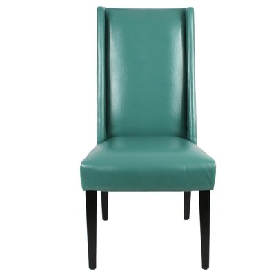 Blain Side Chair Upholstery: Turquoise
