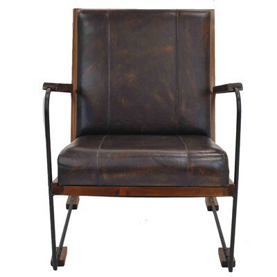Denka Leather Armchair