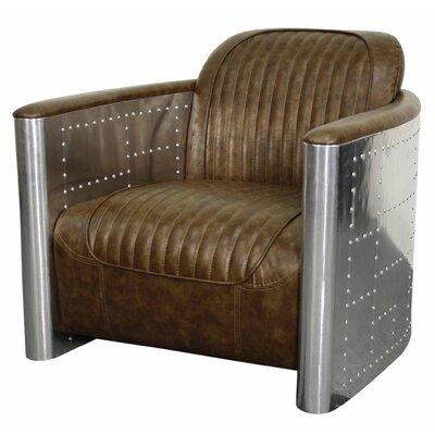 Easton Armchair Upholstery: Distressed Mocha