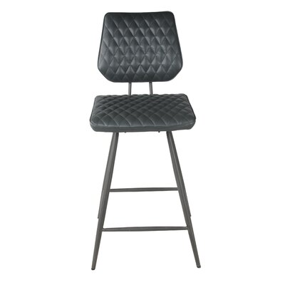 Mitchell 25 Bar Stool Upholstery: Anchor Gray