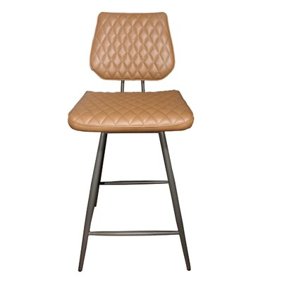 Mitchell 25 Bar Stool Upholstery: Cigar
