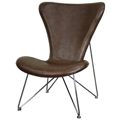 Corbett Lounge Chair Upholstery: Distressed Brown