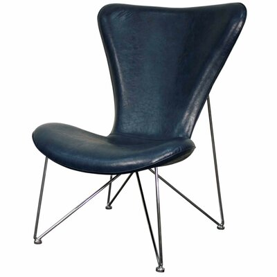 Corbett Lounge Chair Color: Distressed Blue
