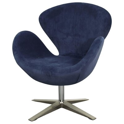 Beckett Swivel Lounge Chair Upholstery: Midnight Blue