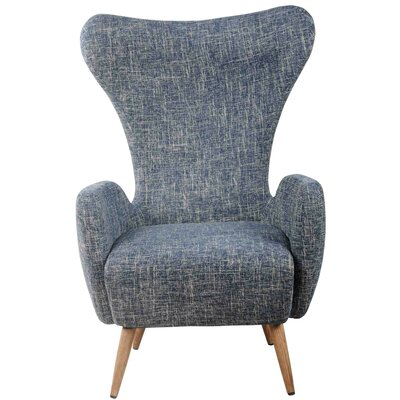 Trevor Fabric Wing back Chair