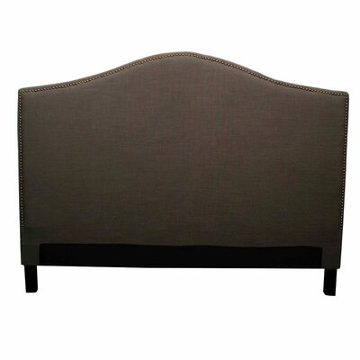 Chloe Upholstered Panel Headboard Size: King, Upholstery: Umber