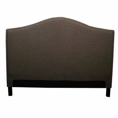 Chloe Upholstered Panel Headboard Upholstery: Umber, Size: King