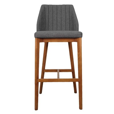 Tory 30 Bar Stool Upholstery: Night Shade
