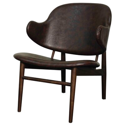 Doyle Armchair Upholstery: Distressed Java