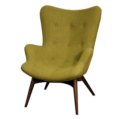 Alingtons Wingback Chair Color: Herbs