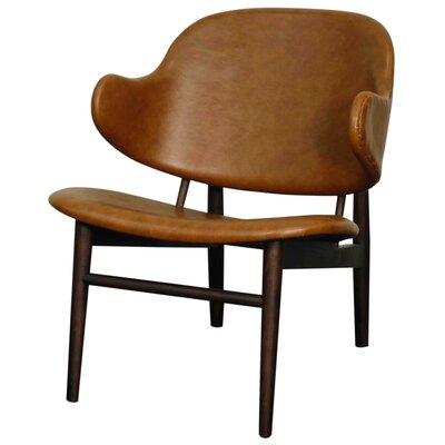 Doyle Arm Chair Color: Distressed Caramel