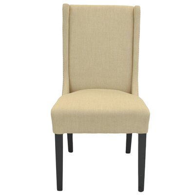 Holden Side Chair Upholstery: Flax