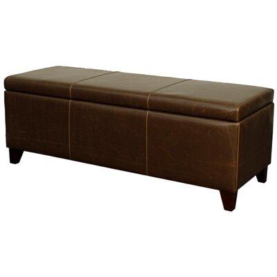 Sofia Storage Ottoman Upholstery: Vintage Brown