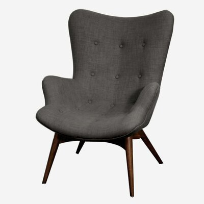 Alingtons Wingback Chair Color: Rock