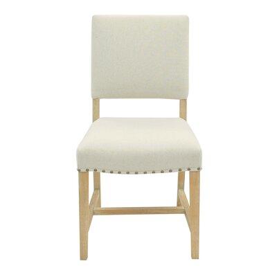 Arthur Side Chair Color: Light Sand
