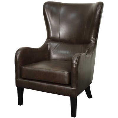 Glendale Bonded Leather Wing back chair
