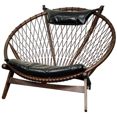 Soren Bonded Leather Papasan Chair