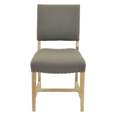 Arthur Side Chair Color: Caf� Mocha