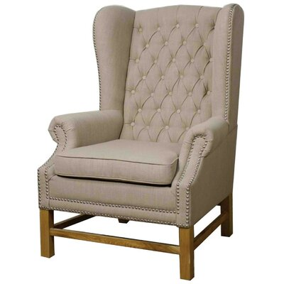Graham Fabric Wing back chair