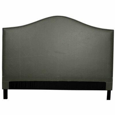 Chloe Queen Upholstered Panel Headboard Upholstery: Vintage Gray