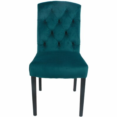 Philip Side Chair Upholstery: Viridian