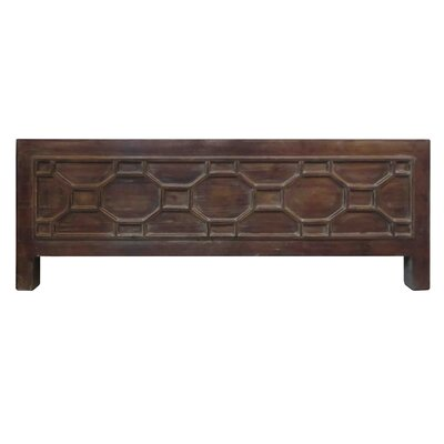 Silvestro Coffee Table Color: Brown