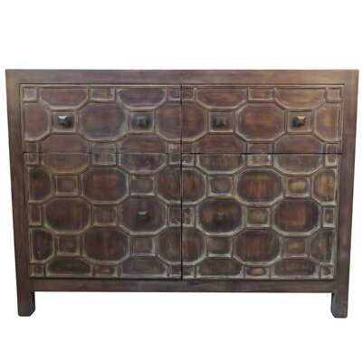 Silvestro Server Color: Antique Brown