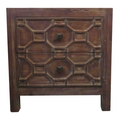 Silvestro End Table Color: Antique Brown