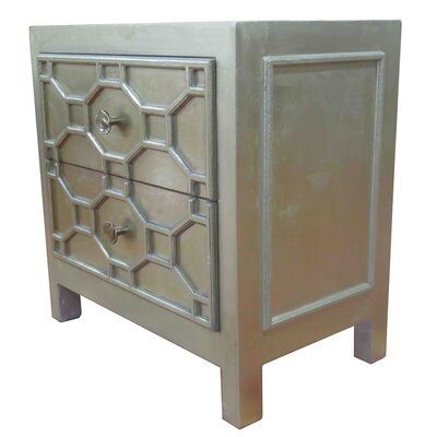 Silvestro End Table Finish: Antique Champagne