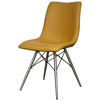 Blaine Side Chair Color: Turmeric