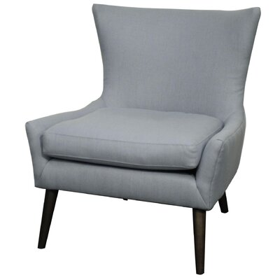 Framboise Fabric Lounge Chair Color: Ocean